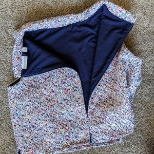 Eva Mendes Medium Woven Crop Top